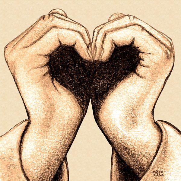 600x600 Hand Heart
