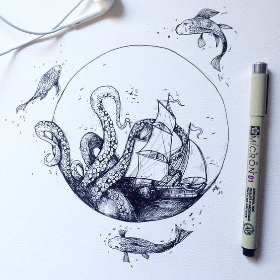 564x564 Drawing Ideas 111 Cool And Fun Things To Draw