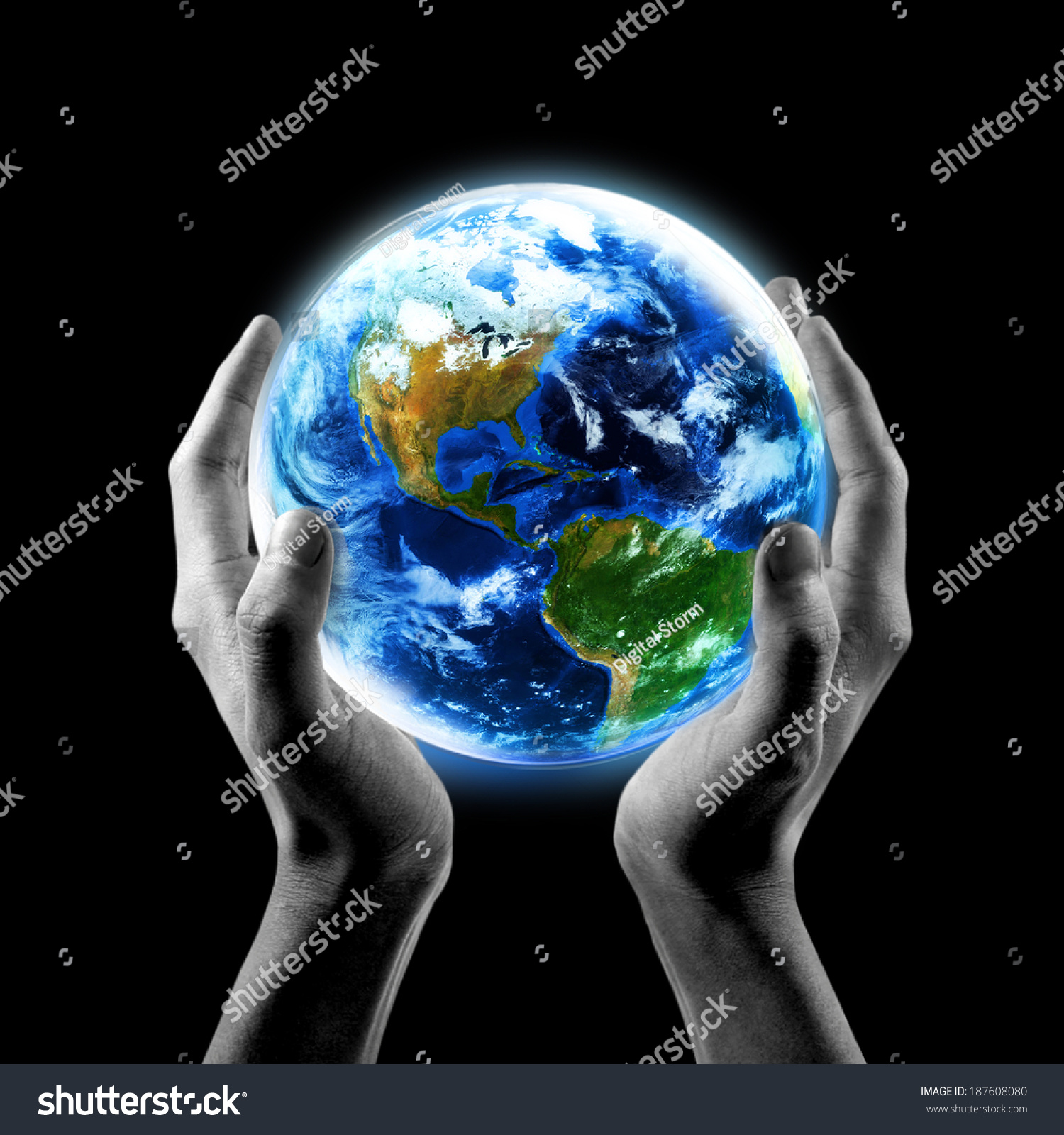 1500x1600 Gallery Black Hands Holding The World,