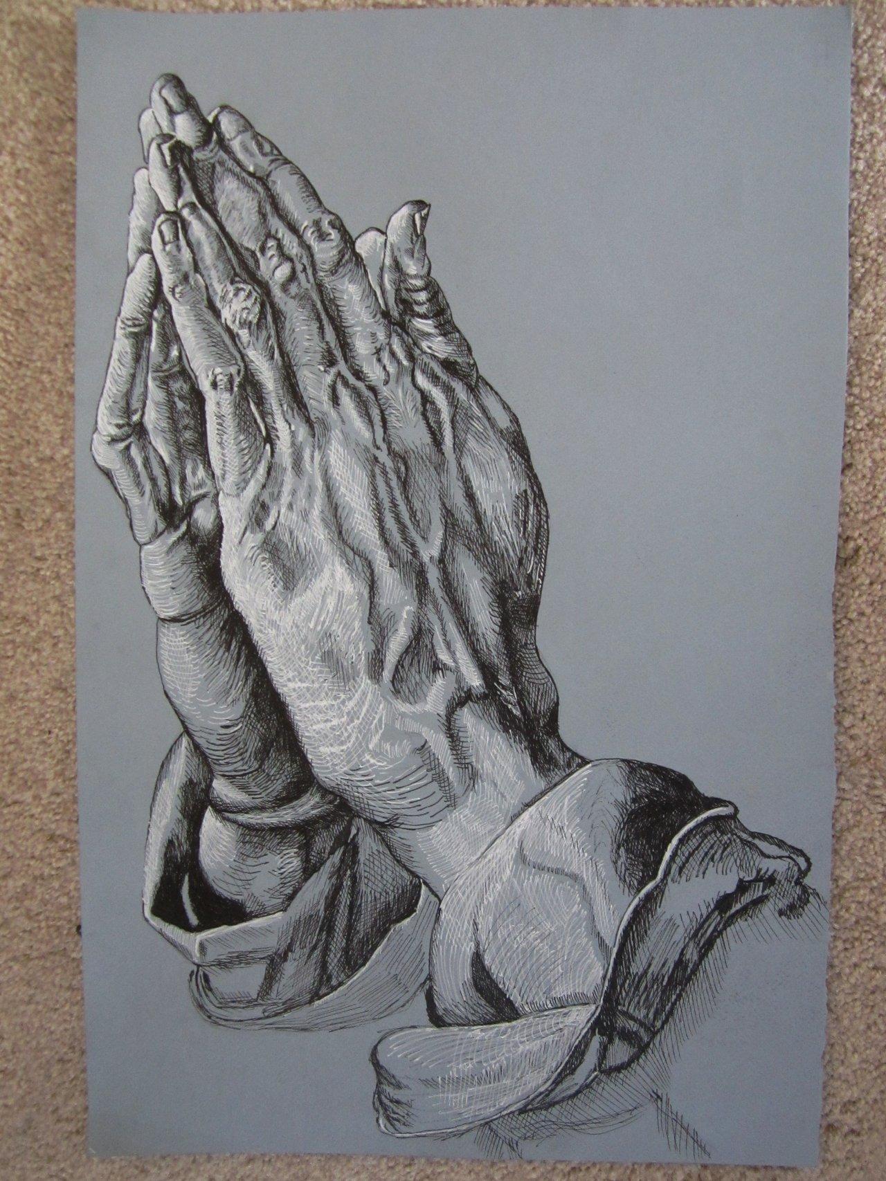 1280x1707 Praying Hands