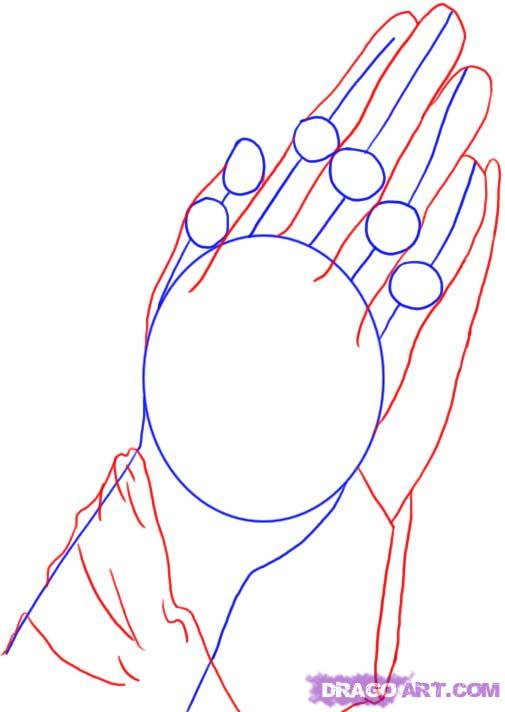 505x712 How To Draw Hands
