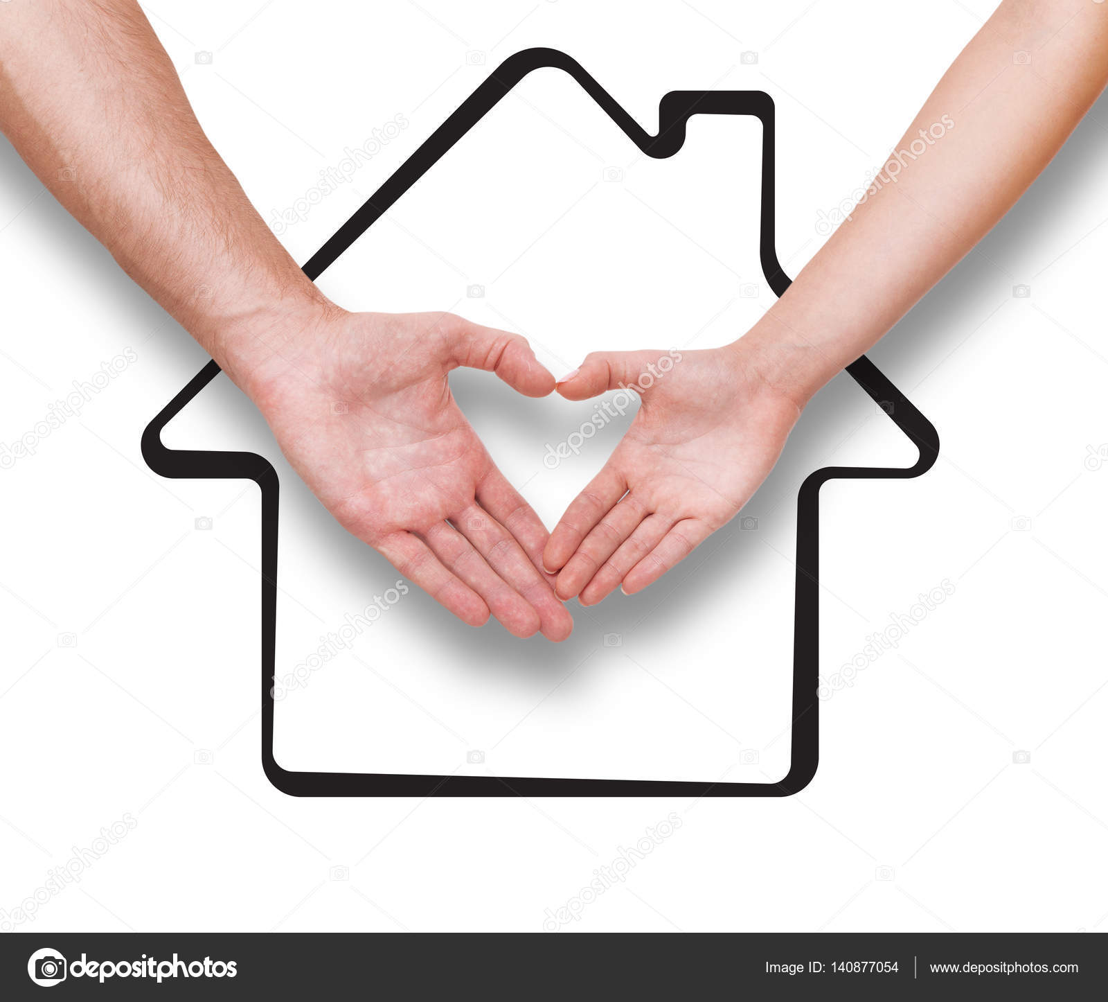 1600x1446 Couple Making Heart Shape With Hands Stock Photo Victoreus