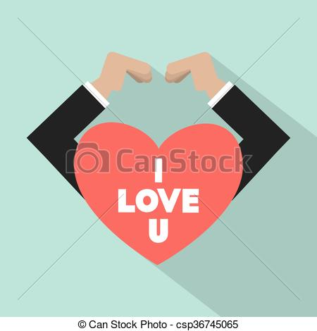 450x470 Hands Making Heart Sign. Hands Making Heart Sign Vector Clip
