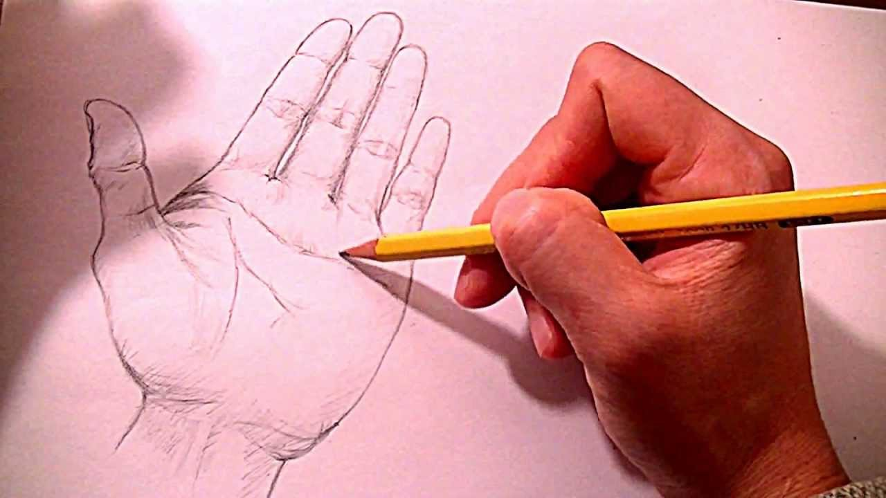 1280x720 How To Draw Hands Step By Step Many Ways