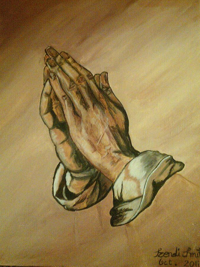 675x900 The Praying Hands Painting By Dis Art