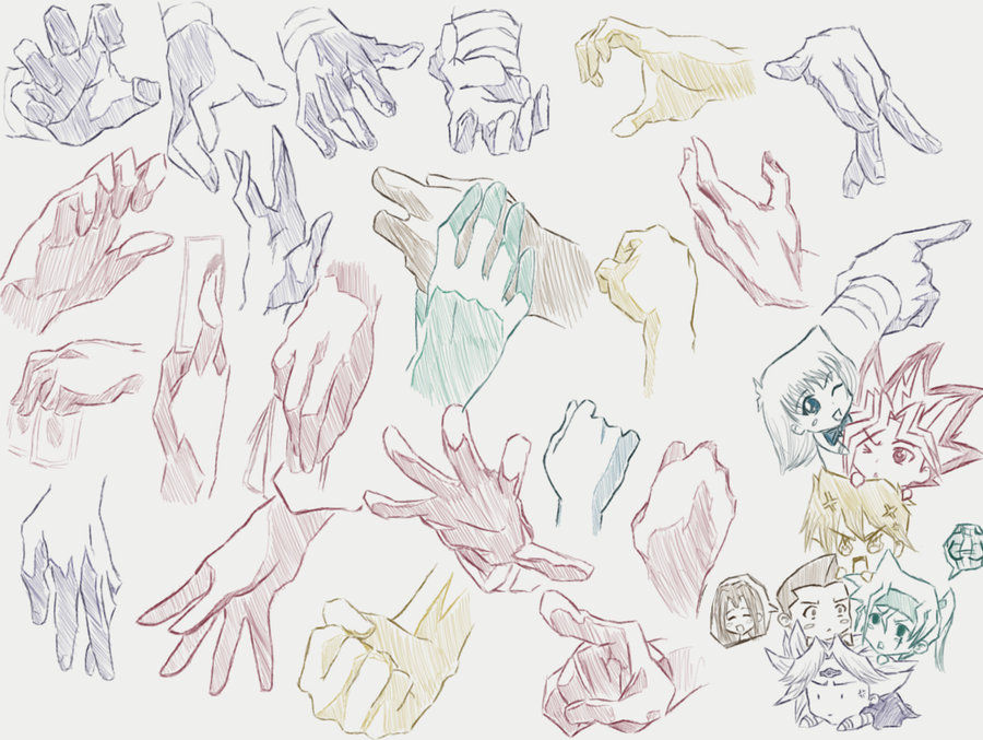 900x677 Hand Reference (Ygo Style) By Foreverfornever740