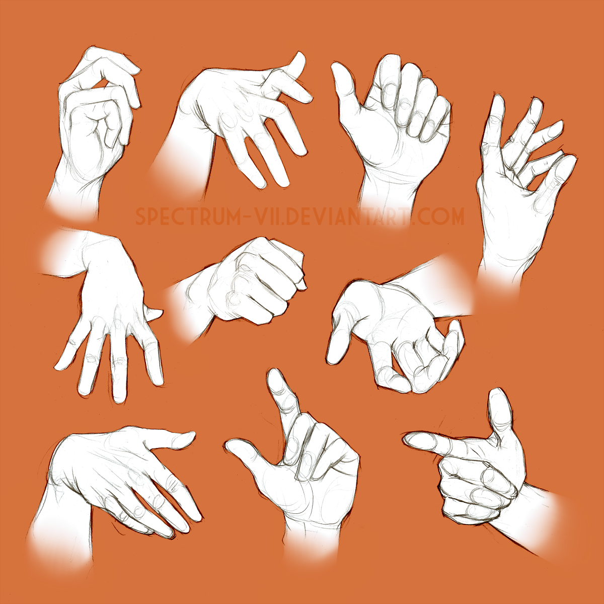 1200x1200 Life Study Hands By Spectrum Vii Hands And Arms