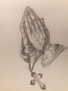 236x314 Image Result For Praying Hands With Rosary Tattoo Ideas