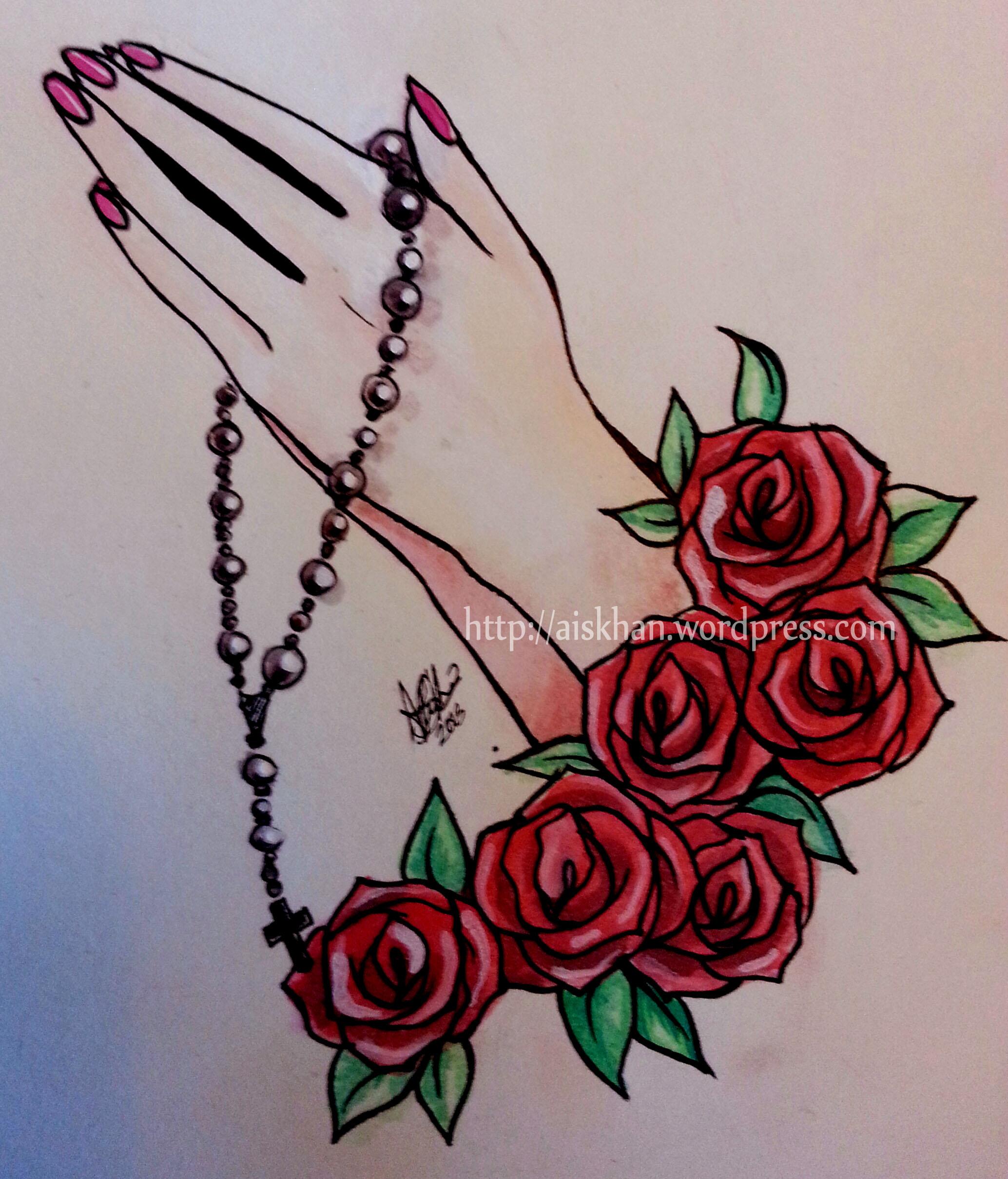 2068x2418 Praying Hands Tattoo Design Ayesha Khan