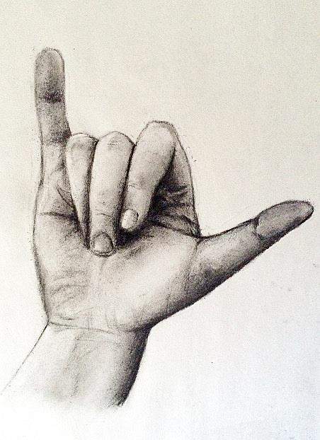 452x622 Hang Loose Drawing By Morgan Gunther