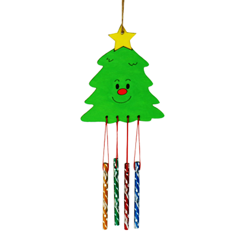 800x800 8pcslot.paint Unfinished Wood Christmas Hanger,drawing Toys