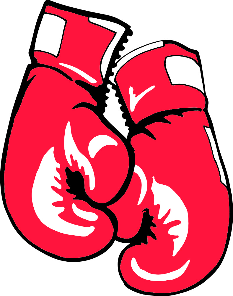 789x1000 Boxing Glove Drawing Hanging Boxing Gloves Outline Jivdom