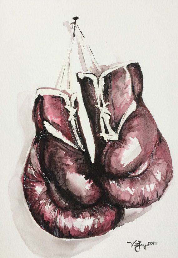570x823 Boxing Gloves Art Group