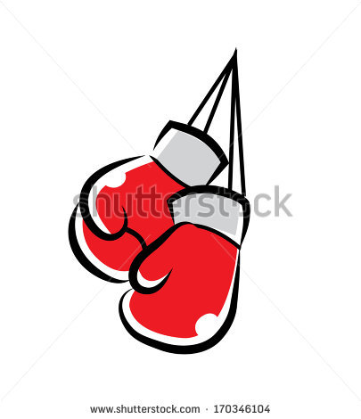 405x470 Boxing Gloves Cartoon Illustration Cookie Inspiration