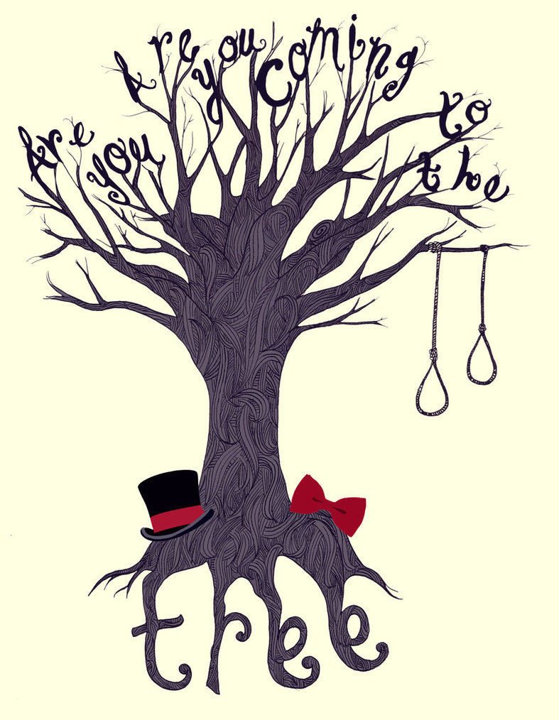 787x1014 The Hanging Tree By Nellmeowmeow