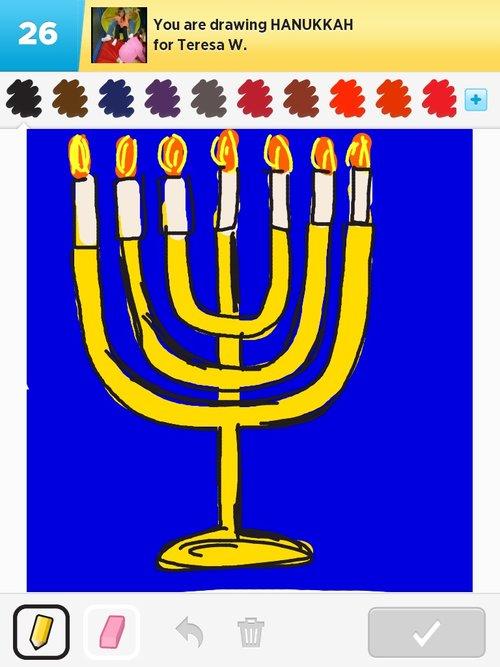 500x667 Hanukkah Drawings