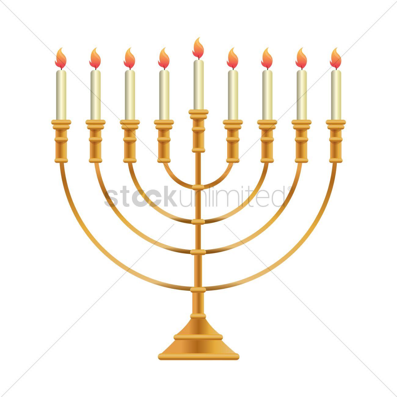 Hanukkah Menorah Drawing At Free For Personal Use Lighting Diagram 1300x1300 Vector Image