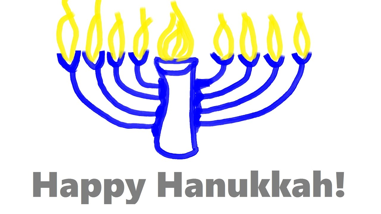 1280x720 How To Draw The Perfect Menorah For Hanukkah