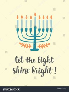 236x314 Hanukkah Menorah Vector Illustration. Jewish Candles Simple Vector