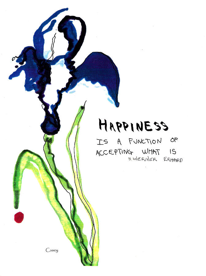 671x900 Happiness Drawing By Casey Shannon