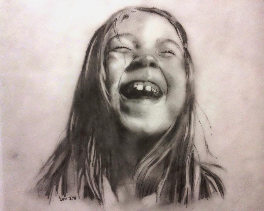 900x718 Happiness Drawing By Luis Leon
