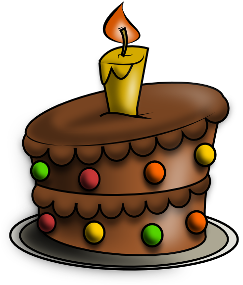 491x576 Birthday Cake Drawing Free Birthday Cake 2 Clip Art Digital