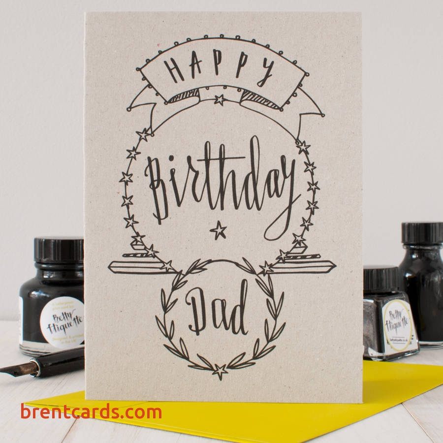 Happy Birthday Dad Drawing At Getdrawings Free For Personal