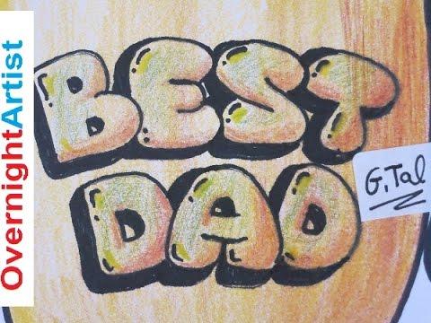 480x360 Draw Best Dad