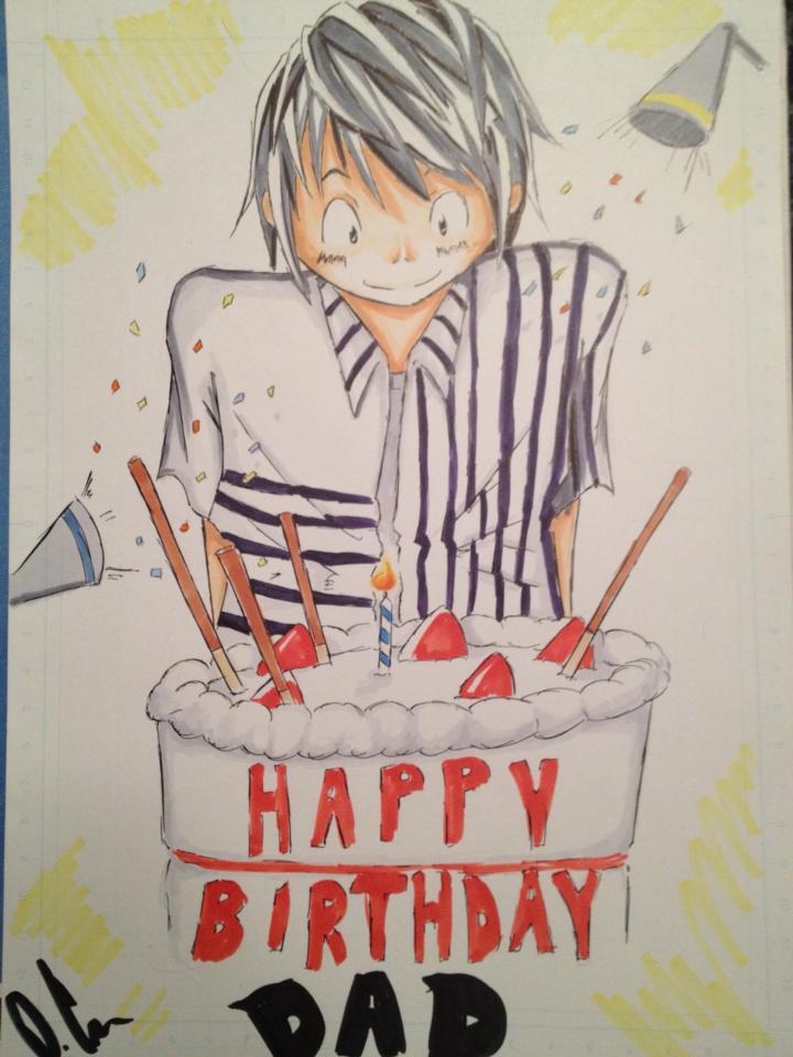 720x960 Happy Birthday Dad!!! By Humarwarrioratticus