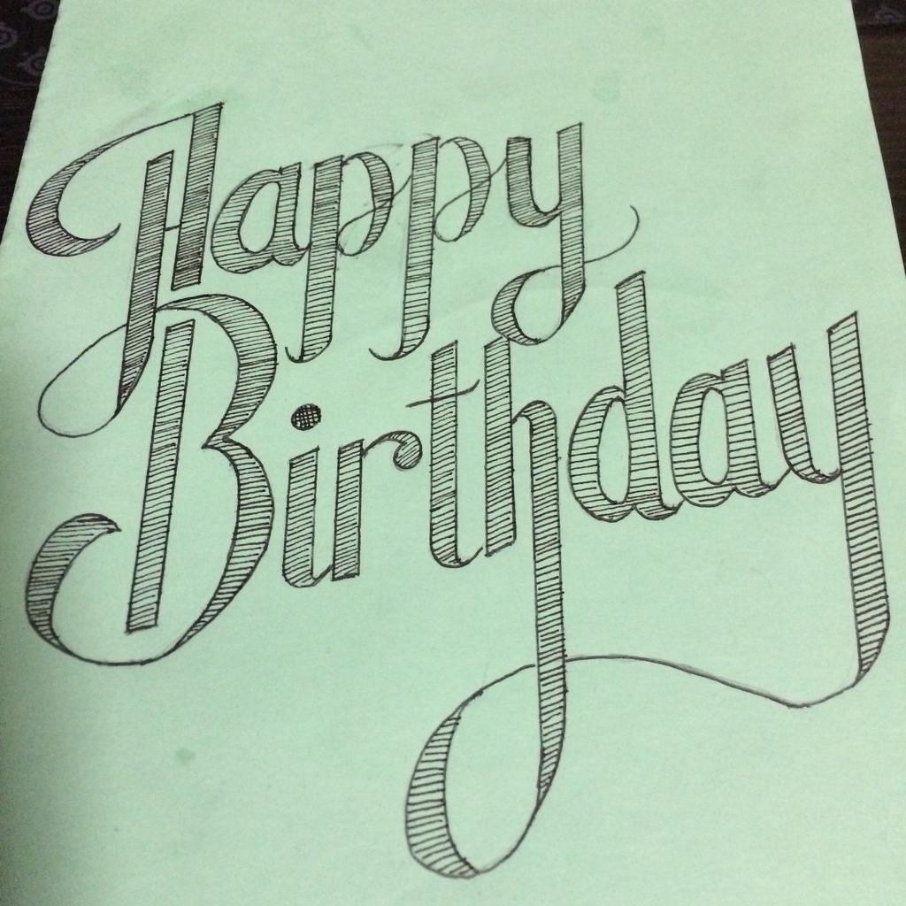 1024x1024 Happy Birthday Lettering