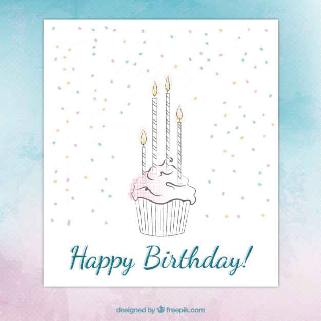 Happy Birthday Drawing Cards At Getdrawings Free For Personal