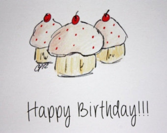 340x270 Happy Birthday Card Drawing Beautiful Drawing Greeting Cards