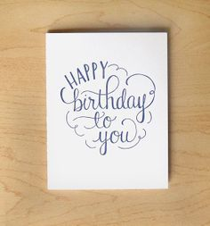 236x253 Happy Birthday Card Hand Drawn, Happy Birthday And Envelopes