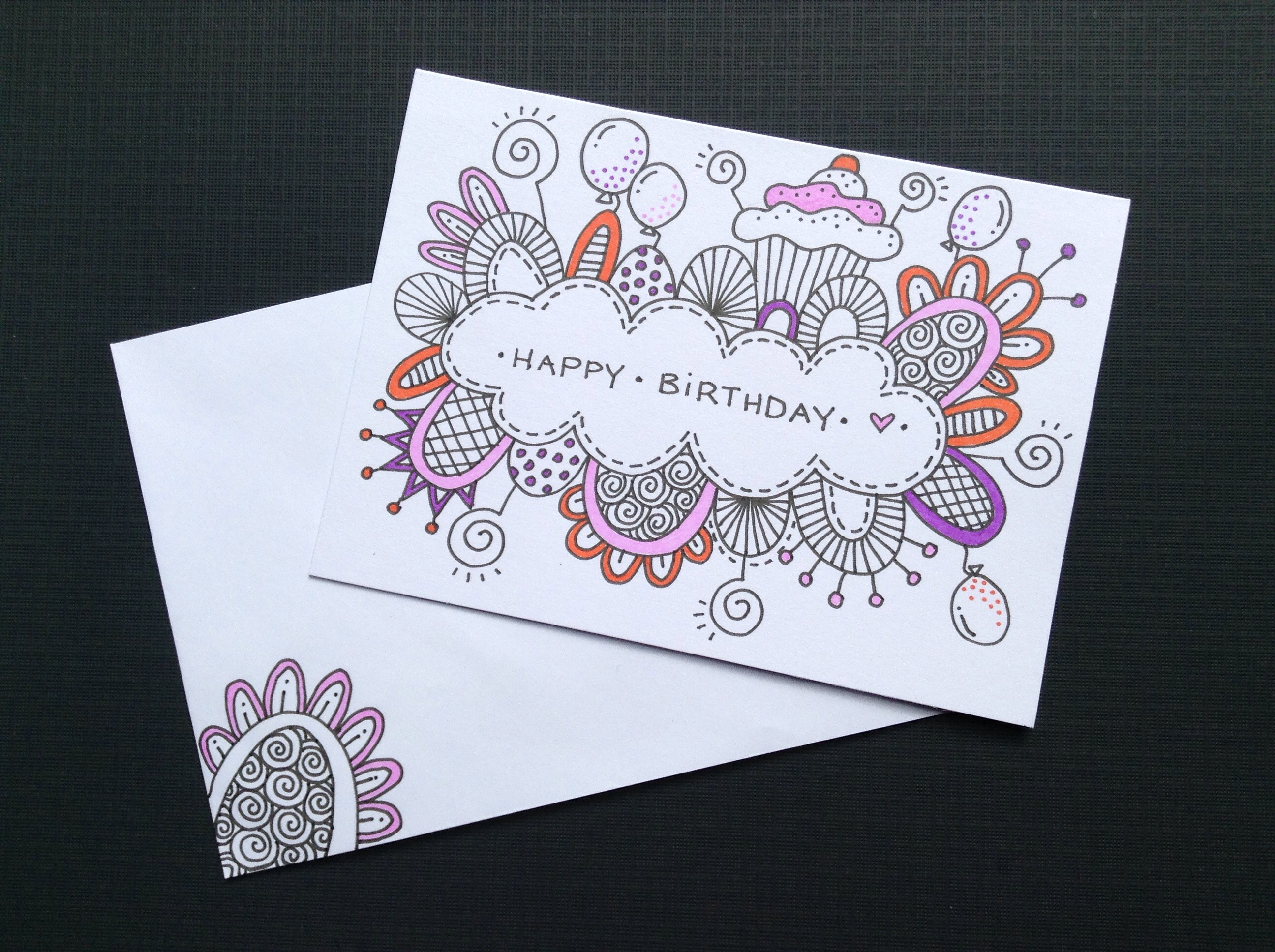 2592x1936 Birthday Card Drawing Ideas Best Ideas About Hand Drawn Cards