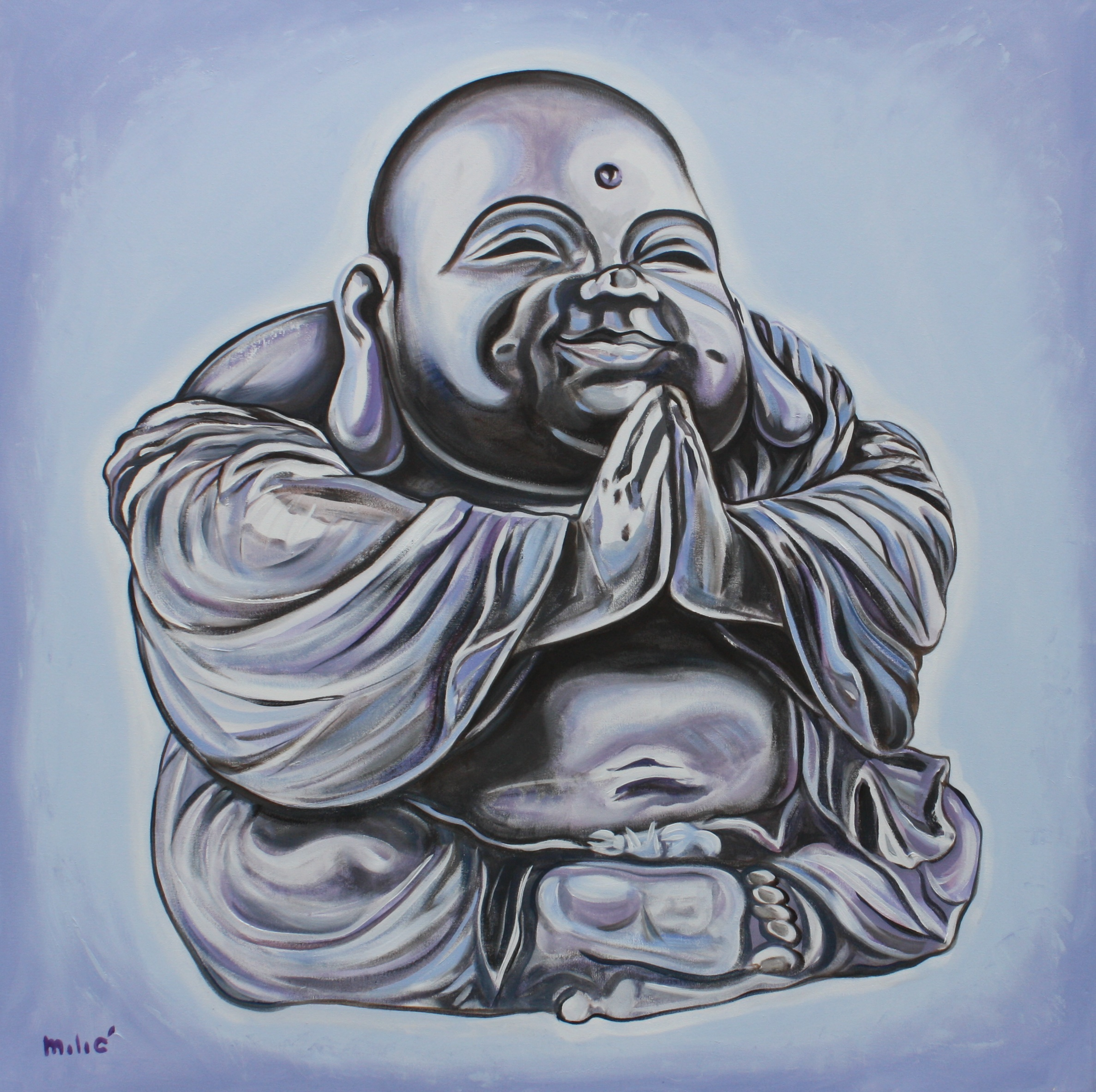 Happy Buddha Drawing at GetDrawings.com   Free for personal use ...