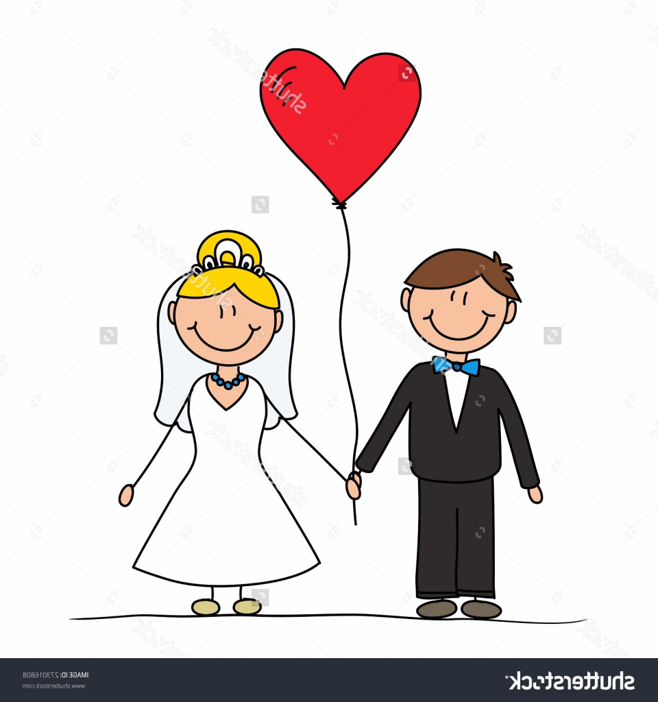 960x1024 Drawing Cartoon Couple Hand Drawing Cartoon Happy Couple Wedding