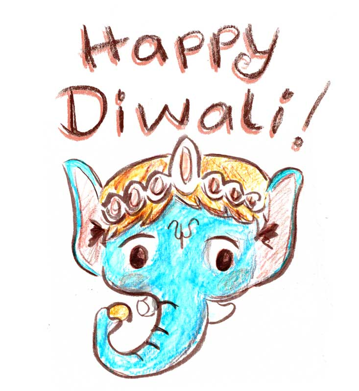 733x800 Diwali Drawing Pictures Diwali Painting Images And Colouring