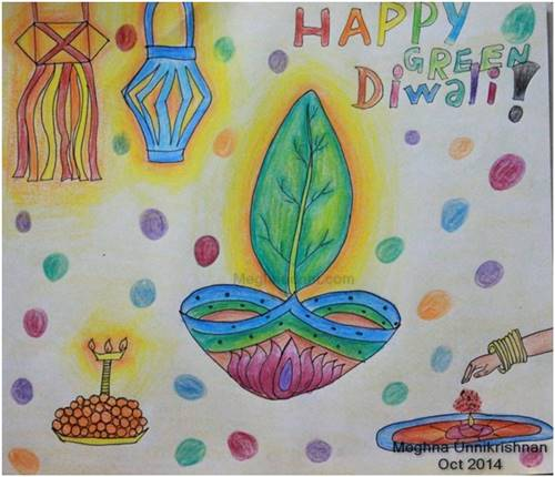 Happy Diwali Drawing at GetDrawings Free for