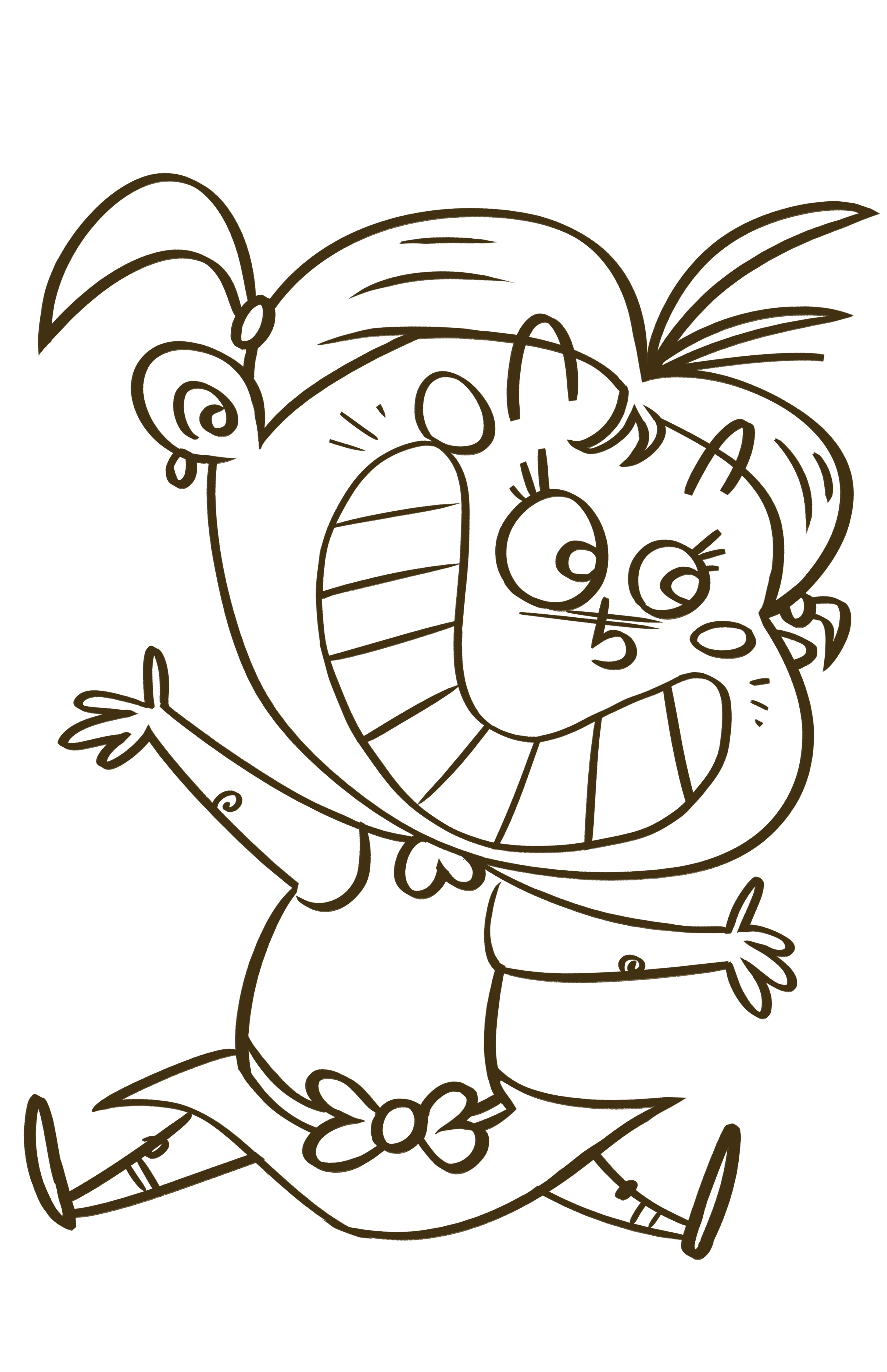 3300x5100 Happy Drawing The Artwork Of John Trabbic Iii