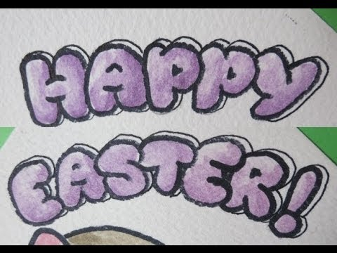 480x360 How To Write Happy Easter