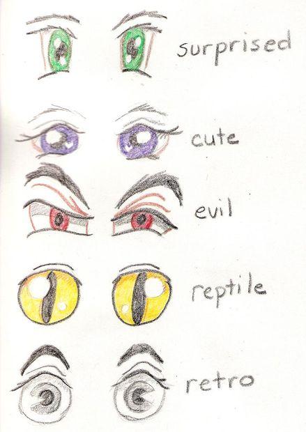 439x620 Happy Eyes Drawing