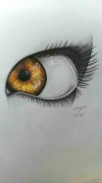 360x640 Just Finished The Second Coloured Eye I'Ve Even Done. I Think I'M