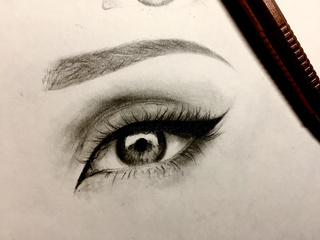 320x240 Eyedrawing Drawings On Paigeeworld. Pictures Of Eyedrawing