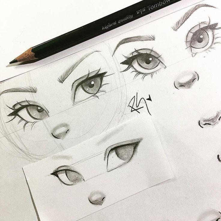 736x736 Best Sketch Nose Ideas
