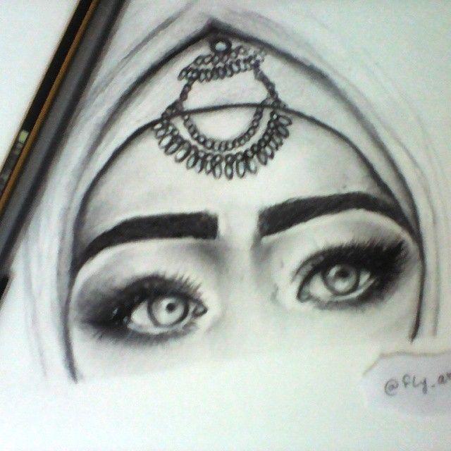 640x640 Drawing The Beautiful Arabian Eyes Of @almass.x
