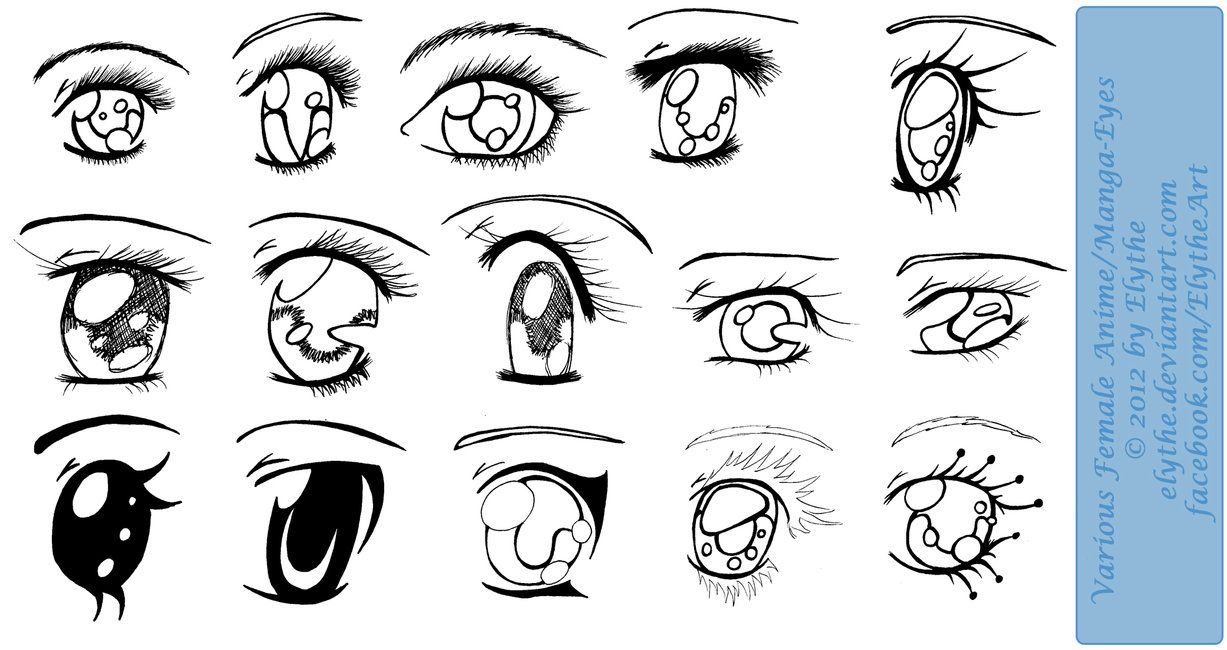 1227x650 Manga Tutorial Female Eyes 02 By Mela 3 If You'Re Going To Use