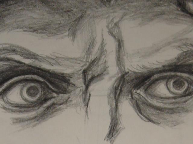 640x480 Happy Eyes Drawing