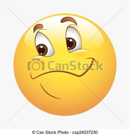 450x470 Innocent Happy Smiley. Cartoon Happy Cute Smiley Face Vectors