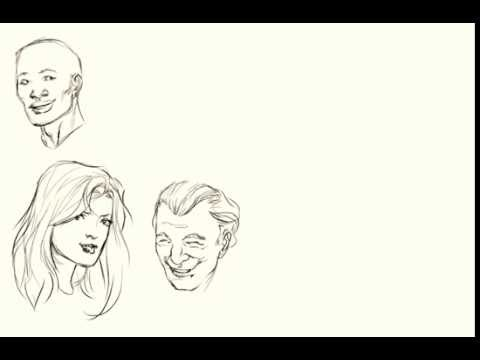 480x360 Drawing Happy Faces.