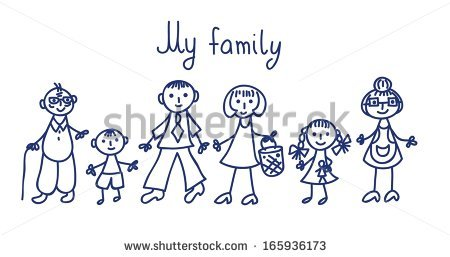 450x257 Drawing Family Portraits For Kids